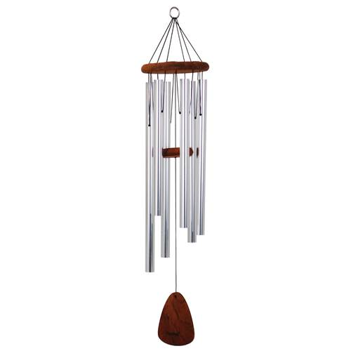 "36"" Festival Wind Chime Silver"
