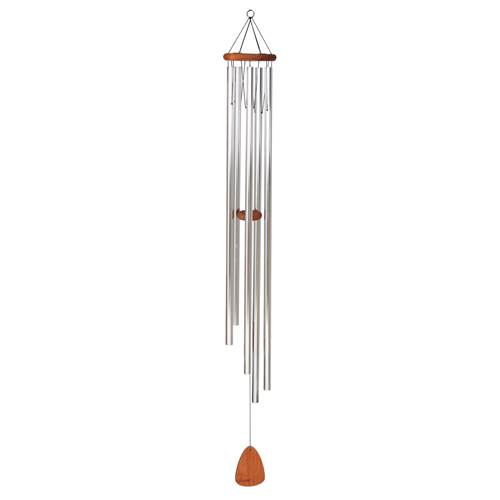 "60"" Festival Wind Chime Silver"
