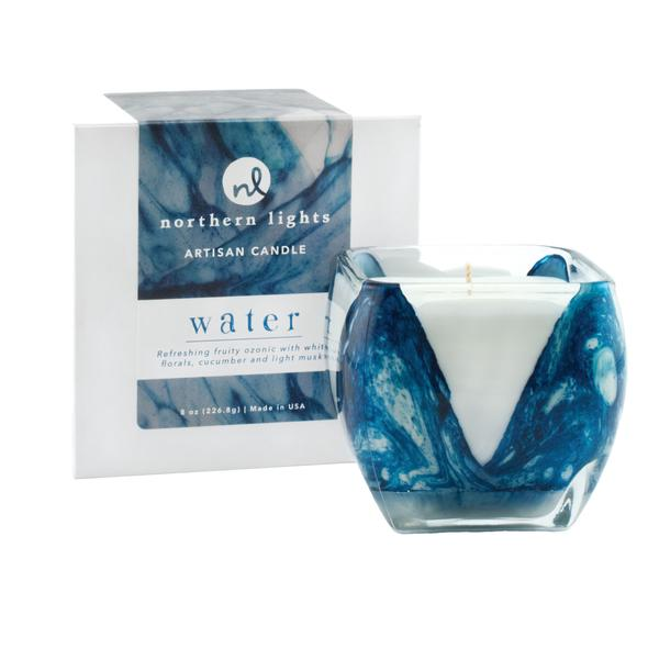 Water Cascade Candle