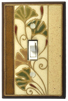 Ginkgo Switch Plate - FL145
