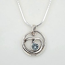 Artist Choice Spiral Necklace