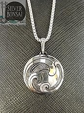 Ocean Medallion Necklace