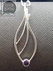 Amethyst Seagrass Necklace