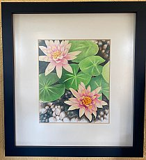 Framed Colored Pencil #3