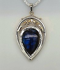 Labadorite Tear Drop Relic