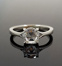 14KW Rose Cut Ring