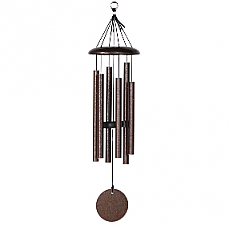 "27"" Corinthian Bells Wind Chime in Copper Vein"