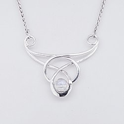 Lorien Nouveau Moonstone Necklace