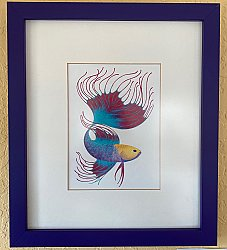 Framed Colored Pencil #2