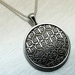 Great Gate Pendant Sterling Silver