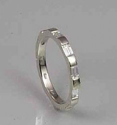 Baguette Eternity Ring