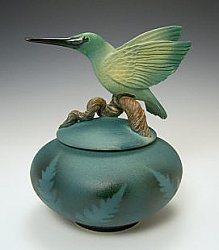 Flying Hummingbird Jar