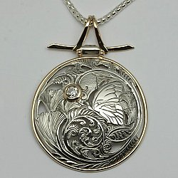 Butterfly Ginkgo Medallion