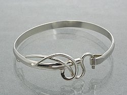 Artist's Choice Forged Hook  II Bracelet