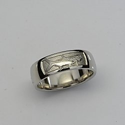Tarpon Wedding Band