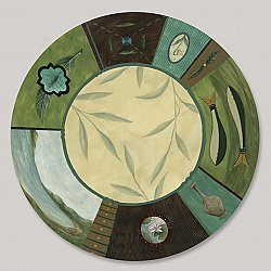 Large Lazy Susan-Twin Fish