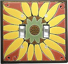 Mexican Sunflower Switch Plate - AG226