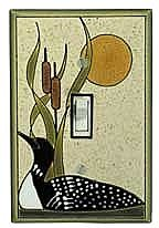 Loon Sand Switch Plate - CT010