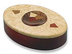 Button Puzzle Box