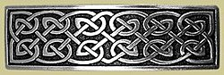 Large Celtic Barrette