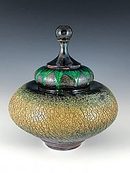 Raku with Glass
