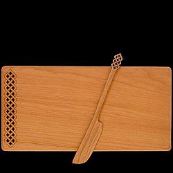 Celtic Cheese Board and Speader set