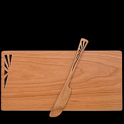 Sunbeam Cheese Board and Spreader set