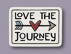 Love The Journey Magnet