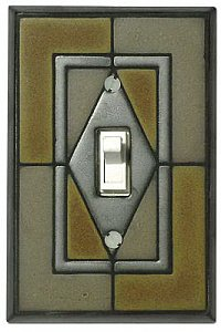 Slate Black Switch Plate - CO188S