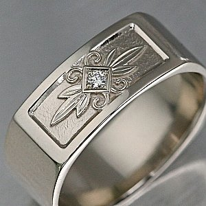 Tribal Carved Band