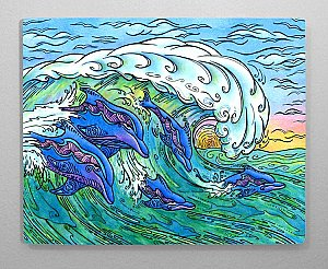 Wave Riding 11x14