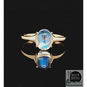 Blue Moon Ring 14KY