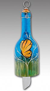 Butterfly Wind Chime-Sapphire